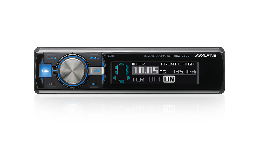 Alpine RUX-C800 Controller to suit Alpine PXA-H800 & PXA-H800GC Professional Series Audio Processors