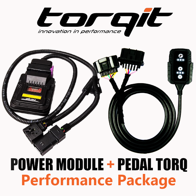 Torqit KIT1052PT Power Module & Pedal Torq Package for Holden, Jeep