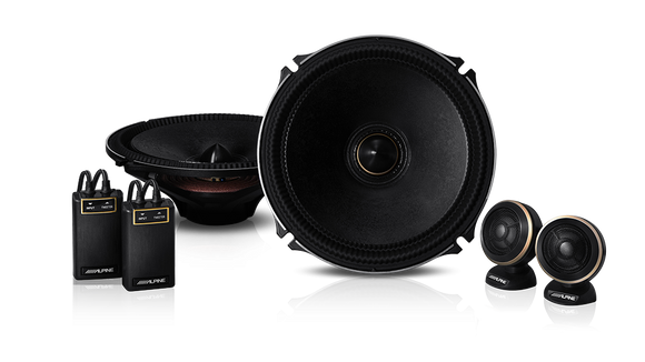 Alpine X-180S X-Premium Sound 7″ Component Speakers