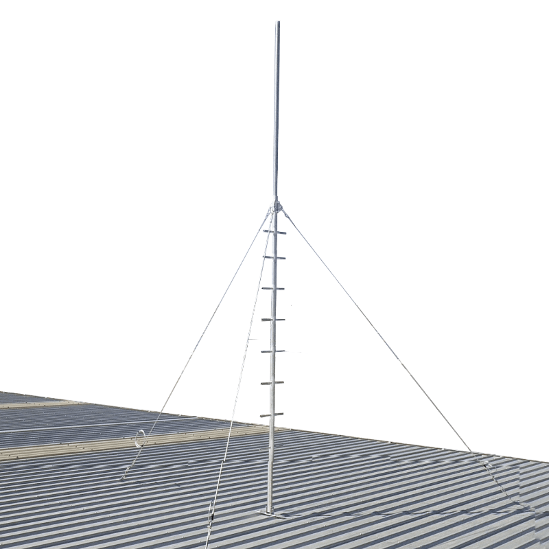 Blackhawk MAS-BH-00002 5-metre Climbable Roof Mast (Galvanised Guyed)