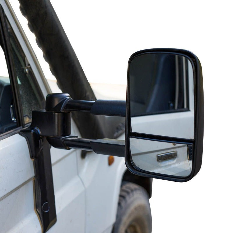 Clearview CV-TL-70S-KEB Towing Mirrors Electric Black