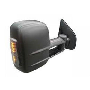 Clearview CV-VW-AK-HGAEB Towing Mirrors Electric w/ Heating GPS AM-FM Black