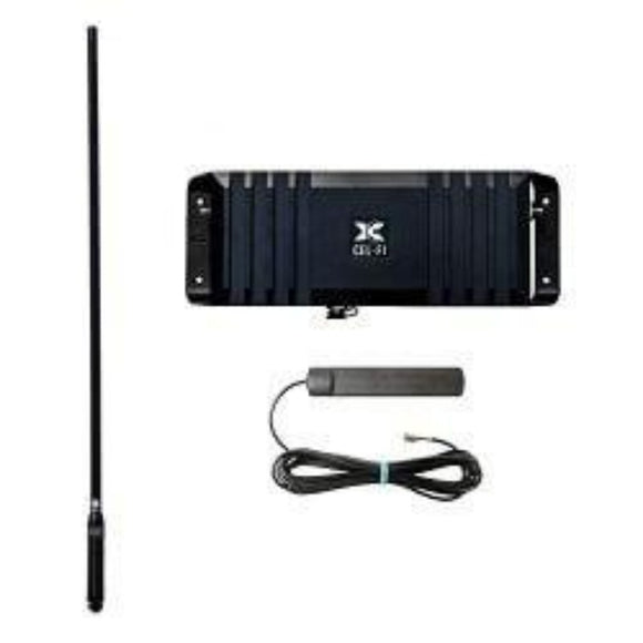 Cel-Fi GoX Mobile Kit G32-1/3/5/7/8/20XMK-CD-B (with T7 Antenna & Black CD7195 Antenna)
