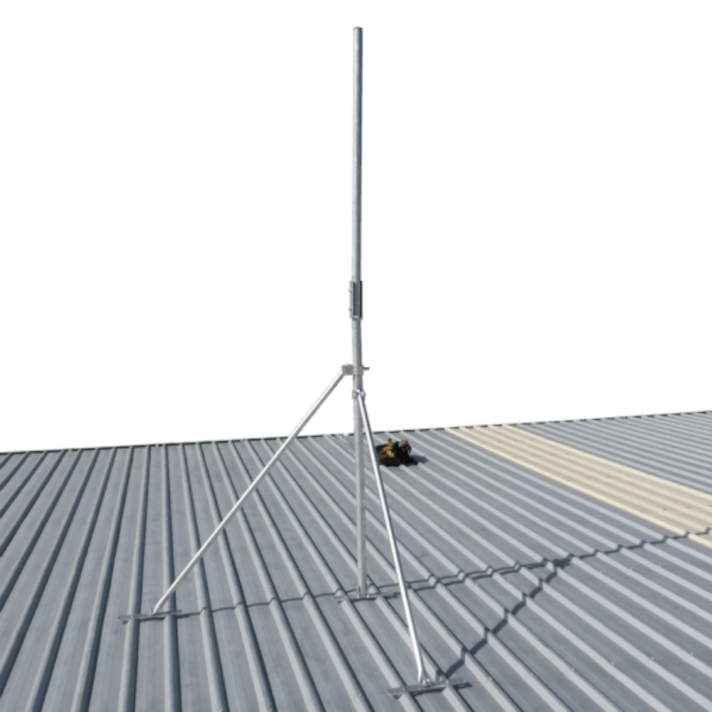 Blackhawk MAS-BH-00045 3-metre Collared Roof Mast (48mm Pole Diametre)