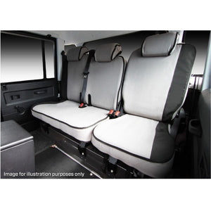 MSA FRT515 Ford Everest Ambiente / Trend Titanium 3rd Row 50/50 Split Rear 2 Headrests Seat Cover