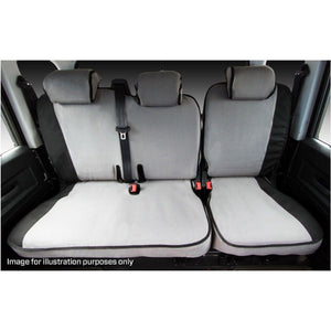MSA LC2010 Toyota Landcruiser 200 Series LC200 VX / Sahara Second Row Seat Cover 60/40 Split Inc. Armrest (AIRBAG SEATS)