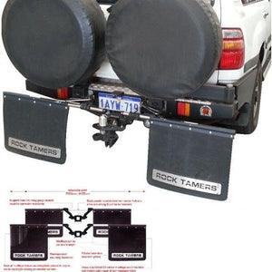 Clearview CV-RT Rock Tamer Mud Flaps