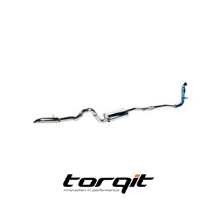 "Torqit HS81114SS 3"" Turbo Back Exhaust to suit Nissan Patrol GU"