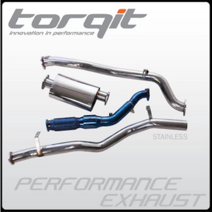 "Torqit HS8138XSS-Twin Twin 3"" Dual L/R Exit DPF Back Exhaust to suit Toyota 200 series"