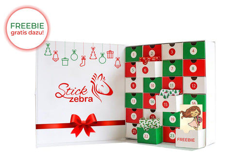 Adventskalender - StickZebra