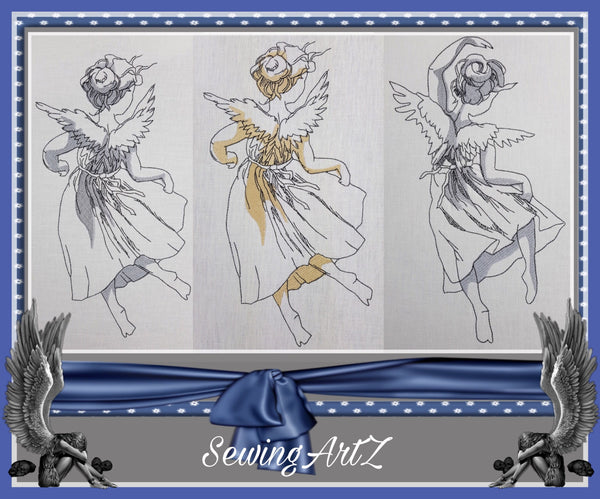 "Engel ""Johanna"" Set - StickZebra"