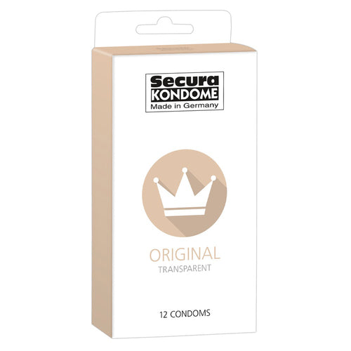 Secura Kondome Original Transparent x12 Condoms - So Seductive