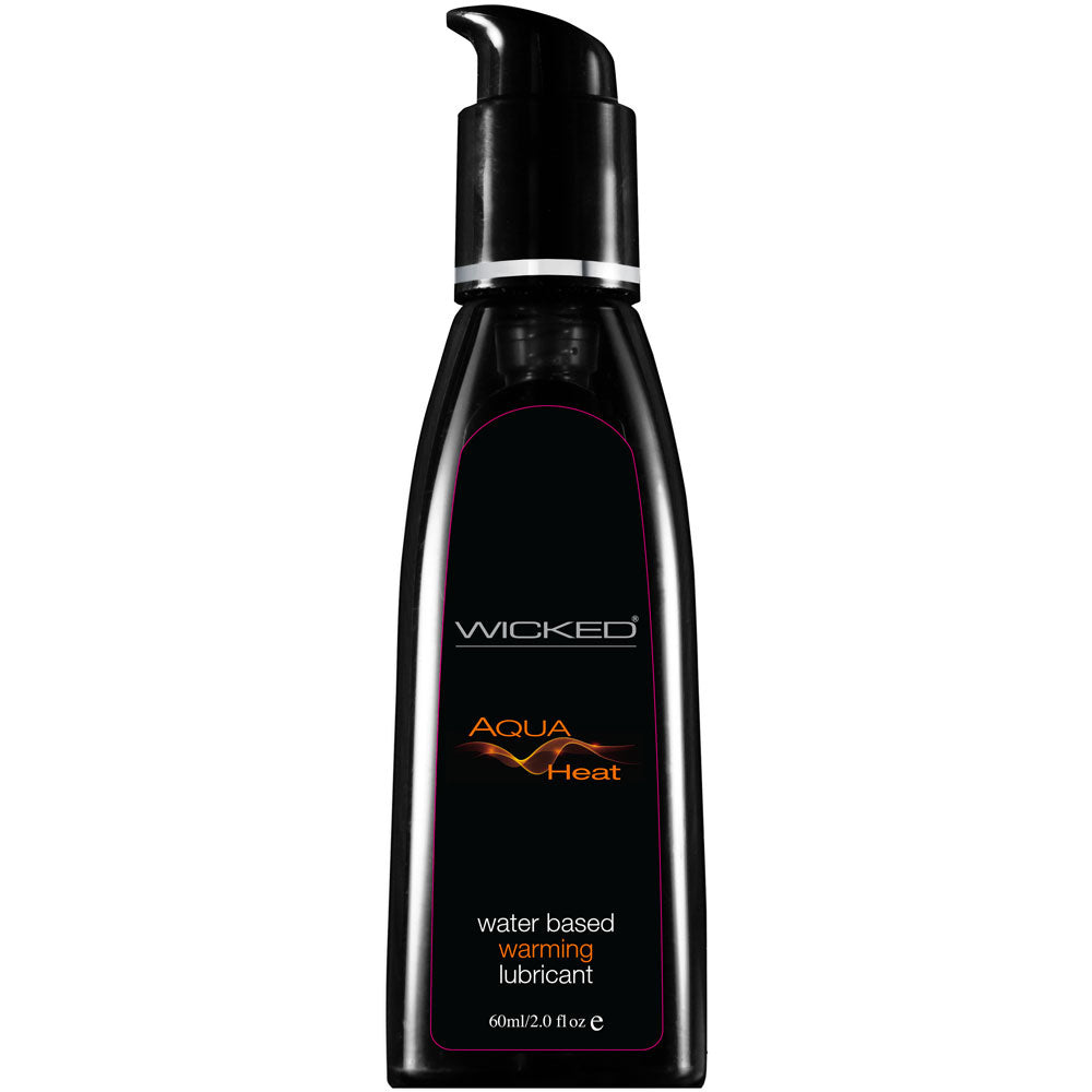 Wicked Aqua Heat Waterbased Warming Lubricant 60mls - So Seductive
