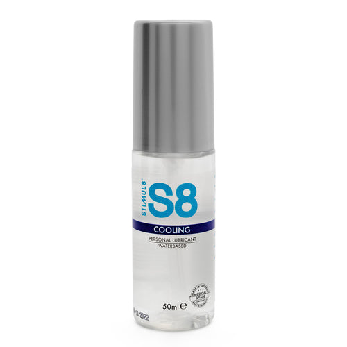 S8 Cooling Water Based Lube 50ml - So Seductive