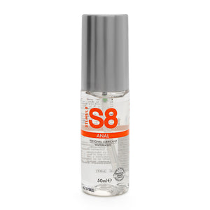 S8 Water Based Anal Lube 50ml - So Seductive