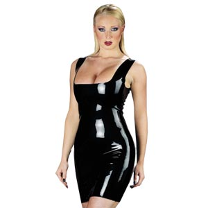 Rubber Secrets Dress - So Seductive