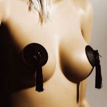 Load image into Gallery viewer, Bijoux Indiscrets Leather Burlesque Tassled Pasties - So Seductive