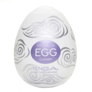 Tenga Cloudy Egg Masturbator - So Seductive