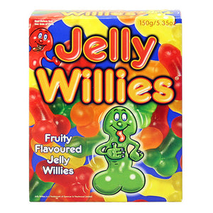 Fruit Flavoured Jelly Willies - So Seductive