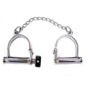 Rouge Stainless Steel Wrist Shackles - So Seductive