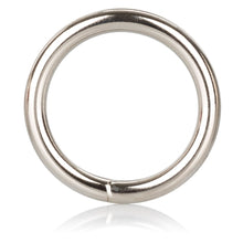 Load image into Gallery viewer, Medium Silver Cock Ring - So Seductive