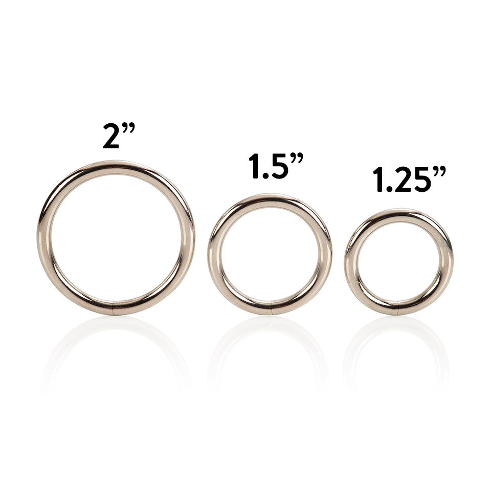 3 Piece Silver Ring Set - So Seductive