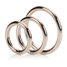 Load image into Gallery viewer, 3 Piece Silver Ring Set - So Seductive