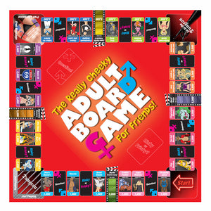 The Really Cheeky Adult Board Game For Friends - So Seductive