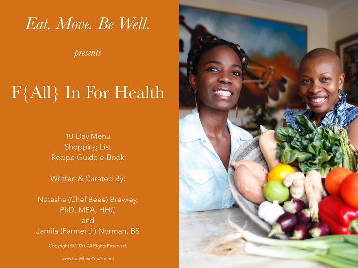 F{All} in for Health | Cleanse | Recipe and Menu Guide - Downloadable eBook
