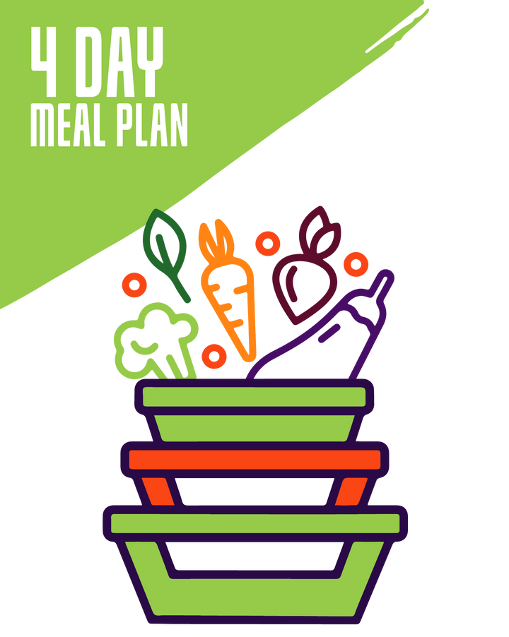 4-Day Essential Meals 2Go! Plan