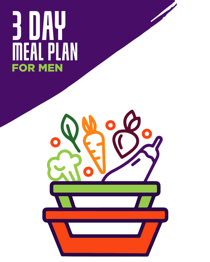 3-Day Essential Meals 2Go! Plan For Men