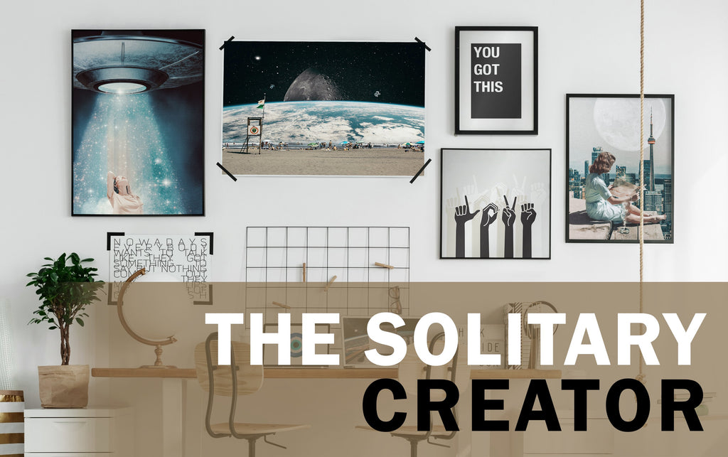 THE SOLITARY CREATOR