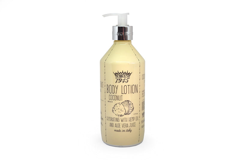 Coconut Body Lotion With Hemp Oil And Aloe
