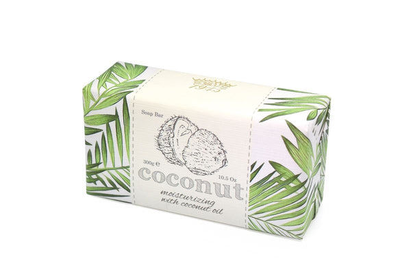 Coconut Essentials Wrapped Bar Soap