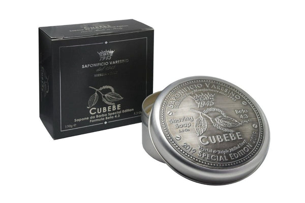 Cubebe Shaving Soap: Special Edition