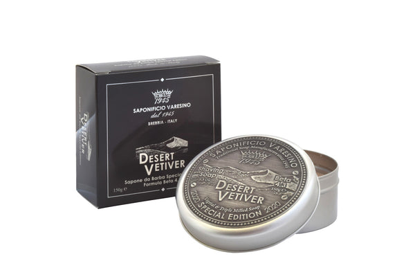 Desert Vetiver Shaving Soap: Special Edition