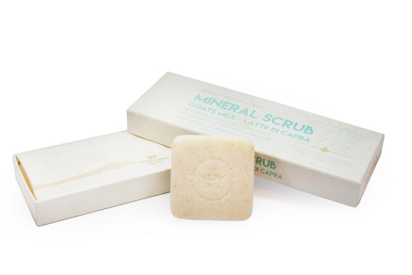 Goats Milk Mineral Scrub Boxed 3-Piece Set