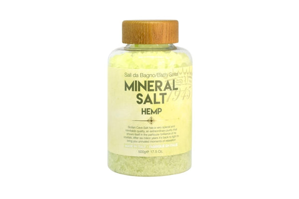 Hemp Protein Mineral Bath Salt