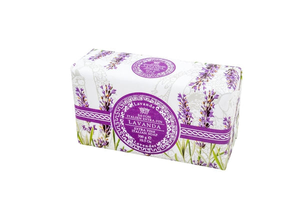 Lavender Hand Wrapped Bar Soap.