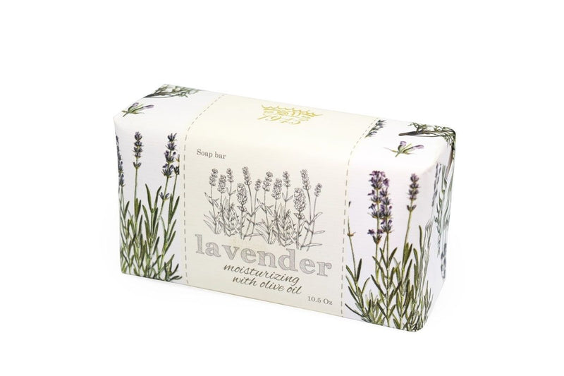 Lavender Essentials Wrapped Bar Soap