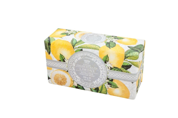 Lemon Hand Wrapped Bar Soap.