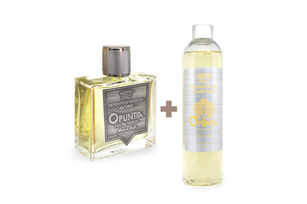 Opuntia Eau de Parfum + Shower Gel Duo