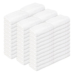 Admiral White Hospitality Bath Towels - Case of 5 Dozen (60 Bath Towels) - Size Options