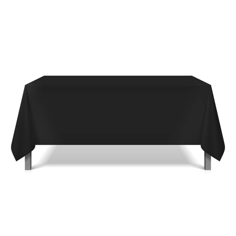 6 Pack of Polyester Tablecloths: 42 x 42, Color Options