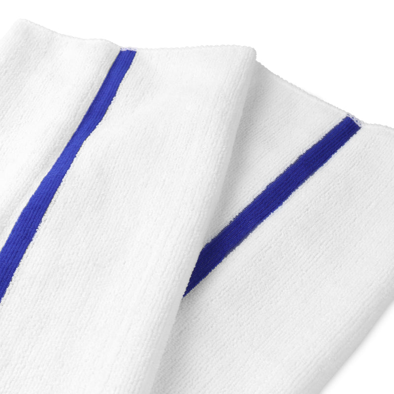 12 Pack of Microfiber Bar Mop Kitchen Towels: 15x18, Absorbent, Lint-Free