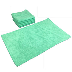 Case of 180 Microfiber Bathroom Hand Towels - 16 x 27 - Color Options