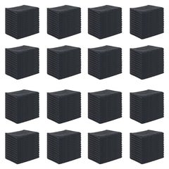 Case of 192 Bleach Safe Salon Towels, 16 x 27, Microfiber Bleach Resistant Towels - Black