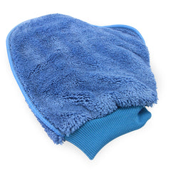 Case of 180 Dusting Mitts - Blue - Microfiber - One Size Fits All - Reusable