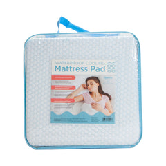 Cooling Waterproof Mattress Pad - Bed Size Options