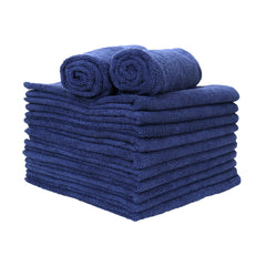 12 Pack of Microfiber Hand Towels: 15 x 24, Color Options
